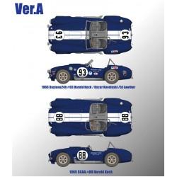 1/12 Cobra 427 Ver.A 1966 Daytona24h #93 Harold Keck / Oscar Koveleski / Ed Lowther 1965 SCAA #88 Harold Keck