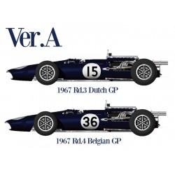1/12 Eagle Gurney Weslake Ver.A 1967 rd.3 Dutch GP / rd.4 Belgian GP