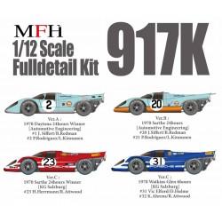 1/12 Porsche 917K Ver.C : 1970 Sarthe 24hours [KG Salzburg] #23 H.Herrmann/R.Attwood / 1970 Watkins Glen 6hours [KG Salzburg] #31 Vic Elford/D.Hulme/#32 K.Ahrens/R.Attwood
