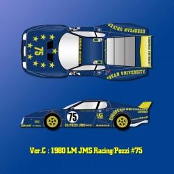 1/12 Ferrari 512BB LM Ver.C 1980 LM JMS Racing/Pozzi #75