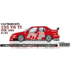 1/24 155 V6 T1 #1,2 DTM 1994 conversion kit