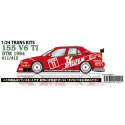 1/24 155 V6 T1 #11,12 DTM 1994 conversion kit