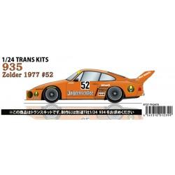 "1/24 Porsche 935 ""Jagermeister"" #52 Zolder 1977 conversion kit"