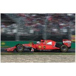 Ferrari SF15-T Malaysian GP 2015 S.Vettel – K.Raikkonen - winner Sebastian Vettel