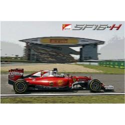 Ferrari SF16-H Cina GP 2016 S.Vettel - K.Raikkonen