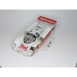 carrozzeria Porsche 962 IMSA completa versione Budweiser n. 86, dipinta ed assemblata - BRMS-001BW