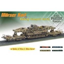 1/144 MORSER KARL ON RAILWAY TRANSPORT CARRRIER (2 pz.) - DRA14509D