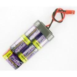 Batterie RX 6V/1600mAh BEC linea - JETBT5L