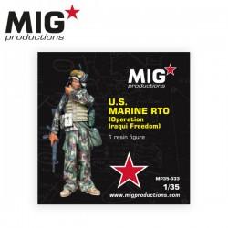 1/35 U.S. MARINE RTO (Operation Iraqui Freedom) - MIGMP35-333