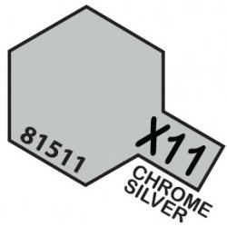MINI 10ml X-11 Chrome Silver  - TAM81511