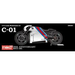 """1/12 Lotus C-01 M stripe """"Martini"""""""