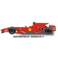 1/12 Ferrari F2008 ver.A European GP/ Japanese GP