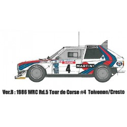1/24 Lancia Delta S4 Ver.B : 1986 WRC Rd.5 Tour de Corse #4 Toivonen / Cresto